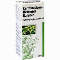 Abbildung von Carminativum- Hetterich Balance Tropfen  100 ml