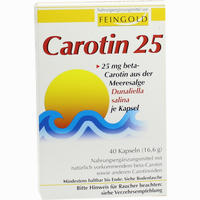 Carotin 25 Feingold 40 Stück