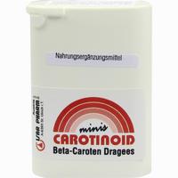 Carotinoid Minis  Dragees 350 Stück