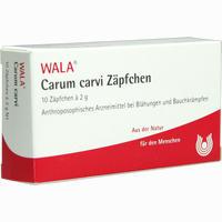 Abbildung von Carum Carvi Zäpfchen  10 x 2 g