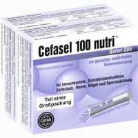 Cefasel 100 Nutri Selen-stix  Pellets 40 Stück