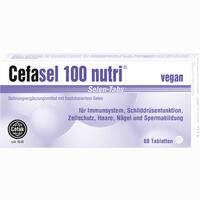 Cefasel 100 Nutri Selen-tabs  Tabletten 60 Stück