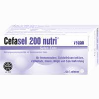 Cefasel 200 Nutri Selen-tabs  Tabletten 200 Stück