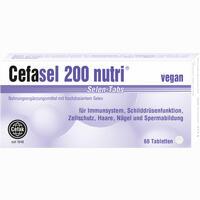Cefasel 200 Nutri Selen-tabs  Tabletten 60 Stück