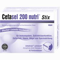 Abbildung von Cefasel 200 Nutri Stix Granulat 42 Stück