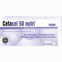 Cefasel 50 Nutri Selen-tabs  Tabletten 100 Stück