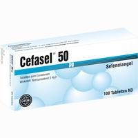 Cefasel 50ug  Tabletten 100 Stück