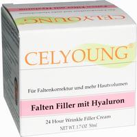 Celyoung Falten Filler Mit Hyaluron  Creme 50 ml