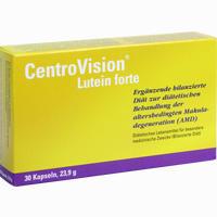 Centrovision Lutein Forte Omega 3  Kapseln 30 Stück
