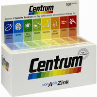 Centrum A-zink + Floraglo Lutein Capletten  Tabletten 100 Stück