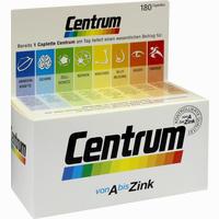 Abbildung von Centrum A- Zink + Floraglo Lutein Capletten Tabletten 180 Stück