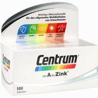 Abbildung von Centrum A- Zink Tabletten 100 Stück