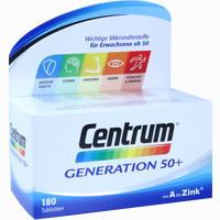 Abbildung von Centrum Generation 50+ A- Zink + Floraglo Lutein Tabletten 180 Stück