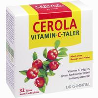 Cerola Vitamin-c-taler Grandel  32 Stück
