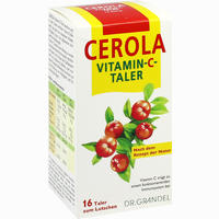 Cerola Vitamin-C-Taler Grandel 16 Stück