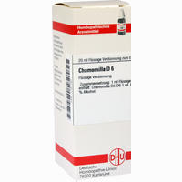 Chamomilla D6  Dilution 20 ML