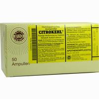 Citrokehl  Ampullen 50X2 ml
