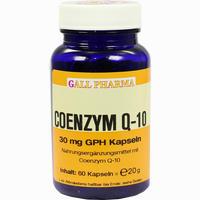 Coenzym-q-10 Gph 30mg  Kapseln 60 Stück