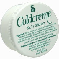 Coldcreme Nr. 11 Silicea  150 ml