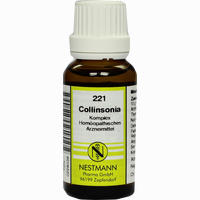 Collinsonia Kompl Nest 221  Dilution 20 ml