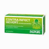 Abbildung von Contrainfect Hevert Erkältungstabletten  40 Stück