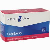 Abbildung von Cranberry Menssana Kapseln  60 Stück