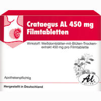 Abbildung von Crataegus Al 450mg Filmtabletten  30 Stück