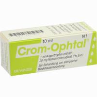 Crom Ophtal  Augentropfen 10 ml