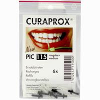 Curaprox Pic 115 Regular Medium Black 6 Stück