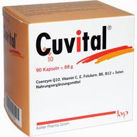 Abbildung von Cuvital Kapseln 90 Stück