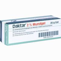 Abbildung von Daktar 2% Mundgel Gel 20 g