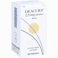 Deacura 2.5mg  Tabletten 100 Stück