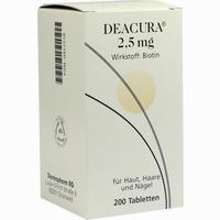 Deacura 2.5mg  Tabletten 200 Stück