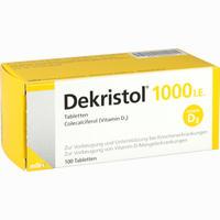 Dekristol 1000 I.e. Tabletten   100 ST