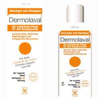 Abbildung von Dermolaval für Den Hautpatienten Duschgel+ Shampoo 200 ml