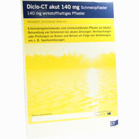 Diclo - Ct Akut 140 Mg Schmerzpflaster   5 ST