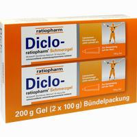 Abbildung von Diclo- Ratiopharm Schmerzgel Bündelpackung 2 x 100 g