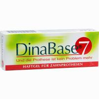 Abbildung von Dinabase 7 Haftgel für Zahnprothesen Geld 1 Stück