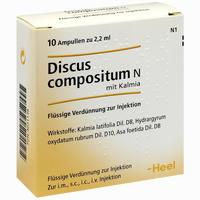 Discus Compositum N Mit Kalmia  Ampullen 10 ST