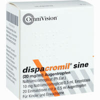 Dispacromil Sine Edp  Augentropfen 20X0.5 ml