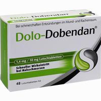 Dolo-dobendan 1.4mg/10mg  Lutschtabletten 48 Stück