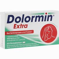 Abbildung von Dolormin Extra  Filmtabletten 20 Stück