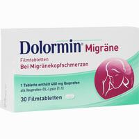 Abbildung von Dolormin Migräne Filmtabletten 30 Stück