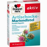 Doppelherz Artischocke-mariendistel Kombi-kapseln  30 Stück