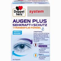 Doppelherz Augen Plus Sehkraft+schutz Systemkapseln  120 Stück