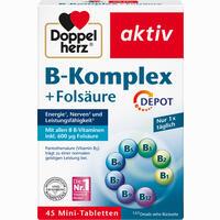 Doppelherz B-komplex + Folsäure  Tabletten 45 Stück