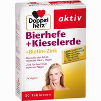 Doppelherz Bierhefe + Kieselerde Tabletten  30 Stück