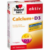 Doppelherz Calcium + D3  Tabletten 30 Stück