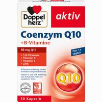 Doppelherz Coenzym Q10 + B-vitamine  Kapseln 30 Stück
