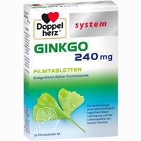 Doppelherz Ginkgo 240 Mg System  Filmtabletten 30 Stück